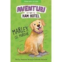CPBPML125_001w Carte Editura Litera, Aventuri la Ham Hotel. Marley cel murdar, Shelley Swanson Sateren