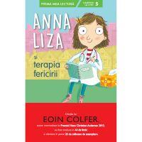 CPBPML140_001w Carte Editura Litera, Anna Liza si terapia fericirii, Eoin Colfer