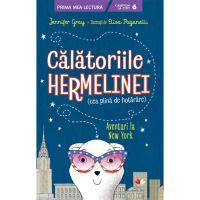 CPBPML141_001w Carte Editura Litera, Calatoriile hermelinei. Aventuri la New York, Jennifer Gray