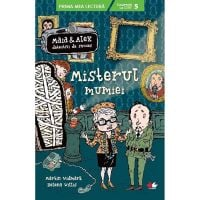 CPBPML151_001w Carte Editura Litera, Maia si Alex. Misterul mumiei, Martin Widmark, Helena Willis