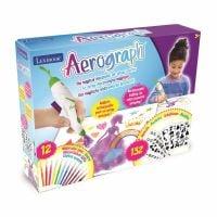 CR800_001w Jucarie interactiva Lexibook, Marker eletronic Aerografh, 12 culori