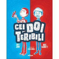CTERIB1_001 Carte Editura Arthur - Cei doi teribili, 1, Jory John, Mac Barnett