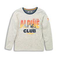 20203145 Tricou cu maneca lunga Alpine Club Dj Dutchjeans
