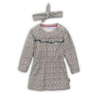 20203047 Set rochie cu maneca lunga si bentita Animal Print Dirkje