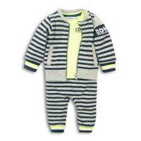 20203077 Set cardigan, bluza si pantaloni sport New Generation Dirkje
