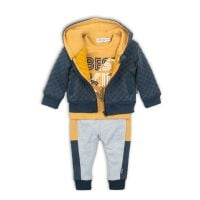 20203112 Set hanorac, tricou cu maneca lunga si pantaloni sport Best Kid
