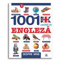 Carte 1001 cuvinte in engleza - despre mine, Editura DPH