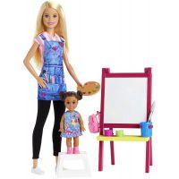 DHB63_008w Set de joaca Barbie, Profesoara de desen, GJM29