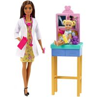 DHB63_013w Set Barbie, Doctor pediatru, GTN52