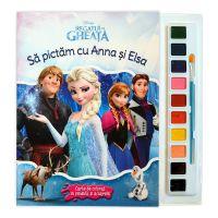 Disney Regatul de gheata - Sa pictam cu Anna si Elsa