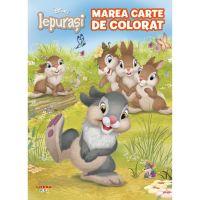 CDCA82_001w Disney Iepurasi, Marea carte de colorat