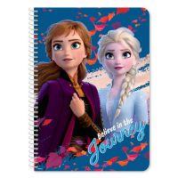 DK000562532_001w Carnet cu spirala Disney Frozen 2, 17 x 25 cm