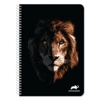 DK000570691_001w Caiet dictando cu spirala A4 Animal Planet, 60 file