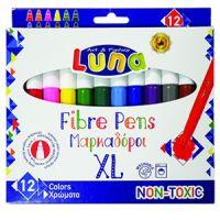 DK000620160_001w Set de 12 markere colorate - Luna