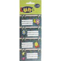 DK000620549_001w Set de 20 etichete autoadezive - Luna
