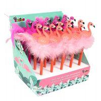 DK000646532_001w Creion cu guma de sters The Littles, Flamingo