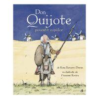CV8006_001w Don Quijote povestit copiilor, Rosa Navarro Duran Francesc Rovira