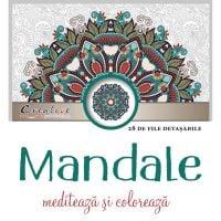 Mandale, mediteaza si coloreaza