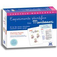 Editura DPH, Casetele Montessori - Experimente stiintifice cu Montessori