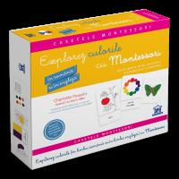 Explorez culorile cu Montessori in romana si in engleza, Charlotte Poussin