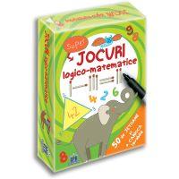 Editura DPH, Jocuri Logico-matematice - 50 de jetoane