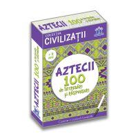 DPH2961_001w Carte Editura DPH, Aztecii 100 de intrebari si raspunsuri, Girmacea Gabriela