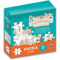 Editura DPH, Emma si Eric invata bunele maniere - puzzle gigant