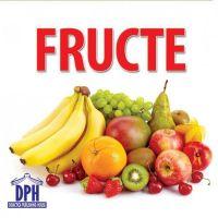 Fructe, carte pliata