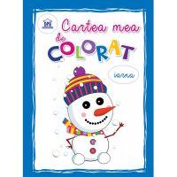 Editura DPH, Cartea mea de colorat - Iarna