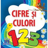 Cifre si culori 123, carte pliata
