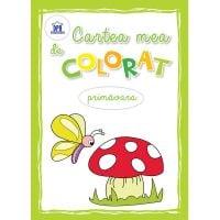 DPH3994_001w Carte Editura DPH, Carte mea de colorat - Primavara