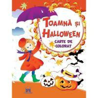 Carte Editura DPH, Toamna si Halloween - Carte de colorat
