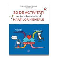 30 de activitati pentru a deveni un as al hartilor mentale, Stephanie Eleaume-Lachaud