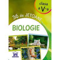 Editura DPH, Biologie - 36 de jetoane - clasa a V-a