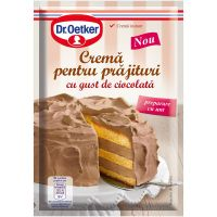 DRQ94_001w Crema pentru prajitura cu gust de ciocolata Dr Oetker, 155 g