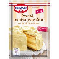 DRQ95_001w Crema pentru prajitura cu gust de vanilie Dr Oetker, 140 g