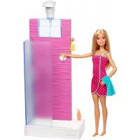 DVX51_021w Set papusa Barbie si accesorii pentru dus, FXG51