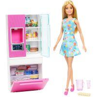DVX51_023w Set papusa Barbie si accesorii pentru frigider, GHL84