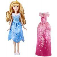 E0073_001w Papusa Aurora fashion, cu rochita extra, Disney Princess