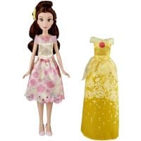 E0073_002w Papusa Belle fashion, cu rochita extra, Disney Princess