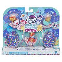 E0193_021w Set mini figurine My Little Pony, Cutie Mark Crew - Championship Party, E3898