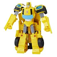 E1886_002 Figurina Transformers Cyberverse Action Attackers Ultra Bumblebee