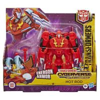 E1886_024w Figurina Transformers Cyberverse Action Attacker Ultra, Hot Rod E7107