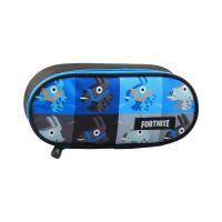E270779NEF_001w Penar cu un compartiment si imprimeu Fortnite, Albastru