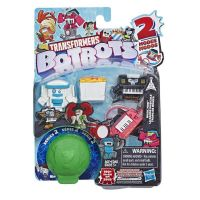 E3486_007w Set 5 figurine BotBots Transformers S2 Music Mob, E4140