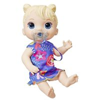 E3690_001w Papusa interactiva Baby Alive, Baby Lil Sounds Blond Hair