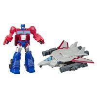 E4220_002w Figurina Transformers Cyberverse Spark Armor, Optimus Prime, Sky Turbine, E4328