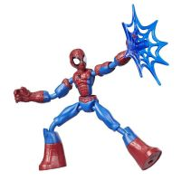E7335_001w Figurina flexibila Spiderman Bend and Flex (E7686)