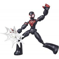 E7335_002w Figurina flexibila Spiderman Bend and Flex, Miles (E7687)