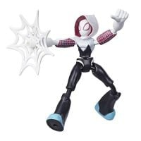E7335_003w Figurina flexibila Spiderman Bend and Flex, Ghost Spider (E7688)